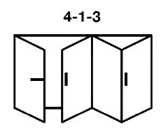4-1-3 Aluminium Bi-fold