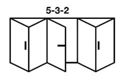 5-3-2 Aluminium Bi-folds