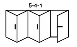 5-4-1 Aluminium Bi-fold