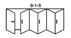 6-1-5 Aluminium Bi-fold
