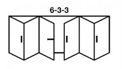 6-3-3 Aluminium Bi-fold