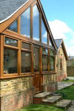 Oak Chamfered House Windows