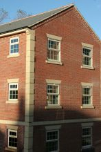 UPVC Chamfered Astral Side House Windows