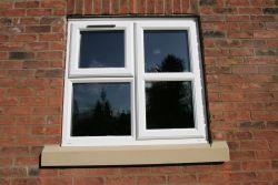 UPVC  Ovolo Window 1Top 1 Side Opener